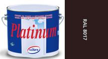 Vitex Platinum satén RAL 8017 0,75L